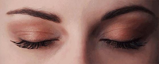 XLASH 阿米娅睫毛臻萃精华液使用后的密睫